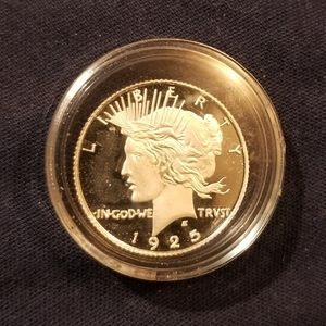 1925D pure silver Peace Dollar Coin
